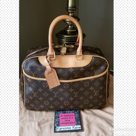 Louis Vuitton Handbags - 🚫SOLD🚫Authentic Louis Vuitton Deauville